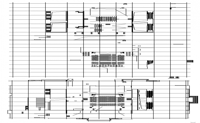 Auditorium Lay-out Plan Detail
