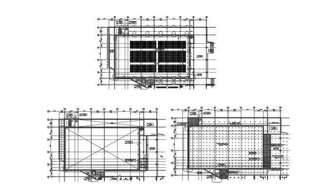 Auditorium Plan AutoCAD Drawing