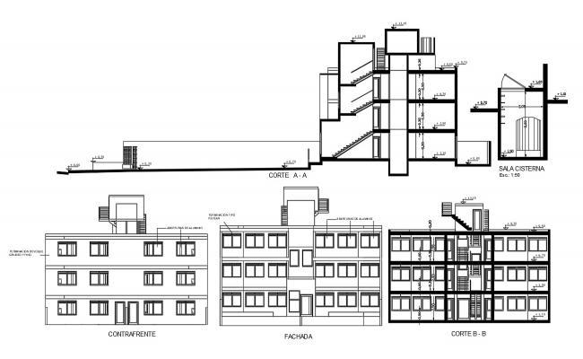 AutoCAD Building CAD Drawing