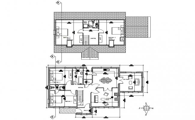 AutoCAD House Plans With Dimensions