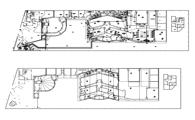 Autocad drawing of Commercial office