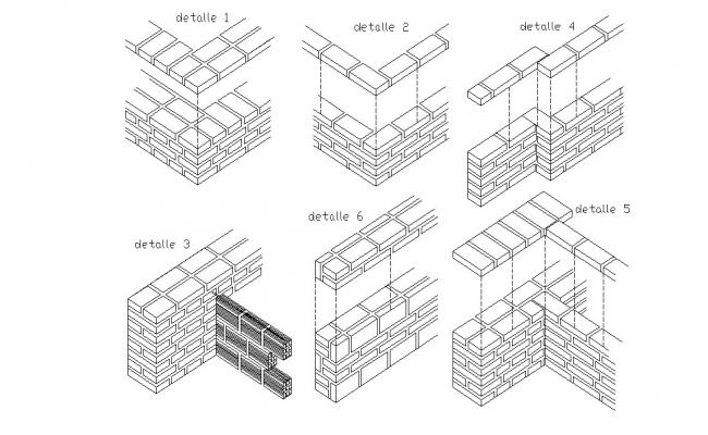 Autocad drawing of construction details
