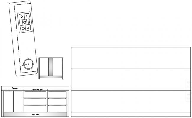 Kitchen Blocks In DWG File