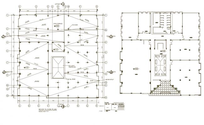 Autocad drawing of gymnasium layout