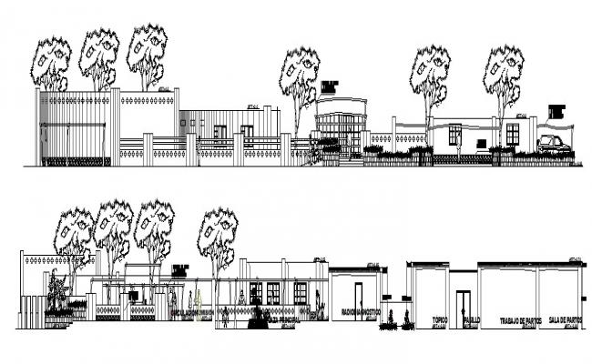Health Center Design In AutoCAD File