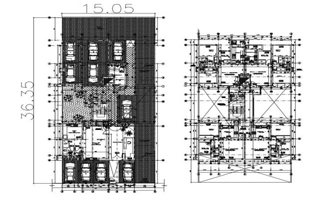 House plans in AutoCAD file