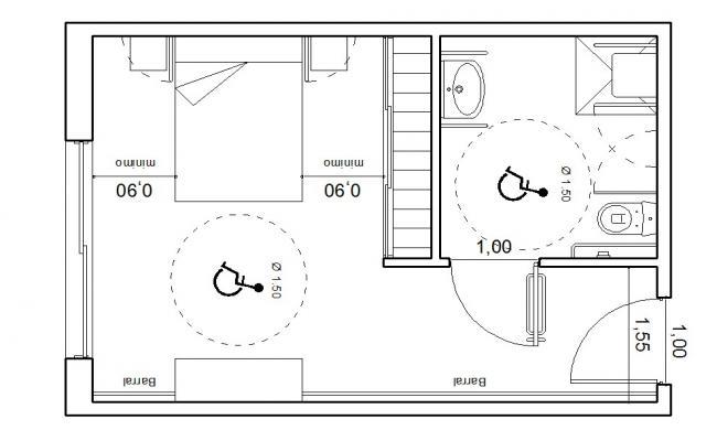 Master Bedroom Floor Plan In DWG File