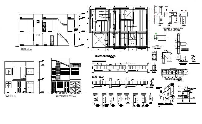 Autocad Residential Design in AutoCAD File
