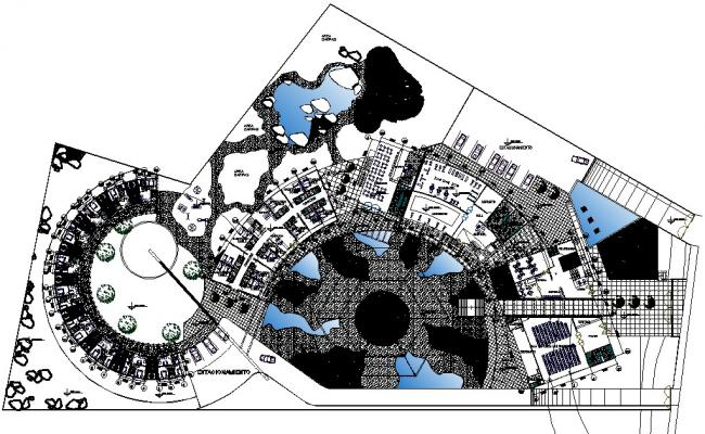 Ecotourism Architecture in AutoCAD