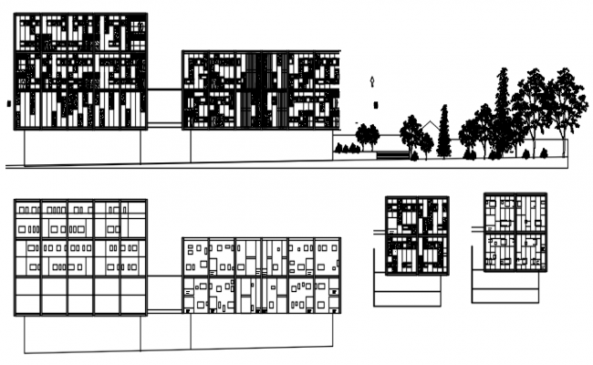 Autocad drawing of the house