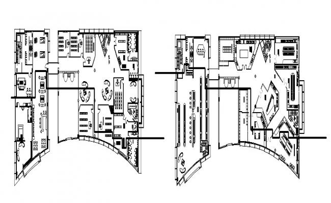 Autocad drawing of the institute
