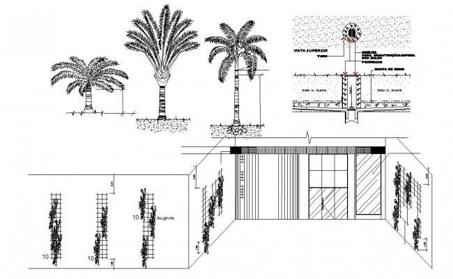 Resort Drawing In DWG File