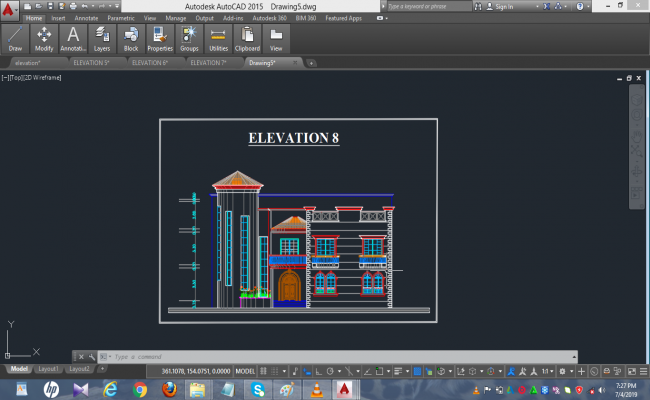 BUILDING ELEVATION 8 DETAILS