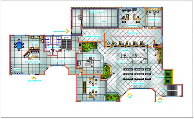Bank Architectural Design