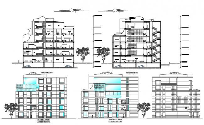 Bank Design Layout CAD File