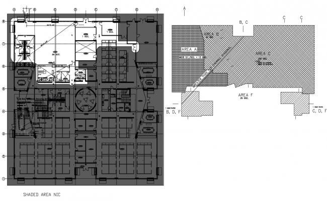 Bank Plan CAD Drawing Download