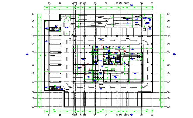 Bank floor plan architecture Design