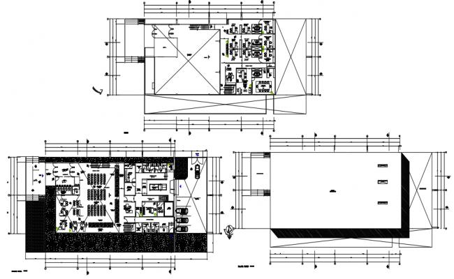 Banking layout plan