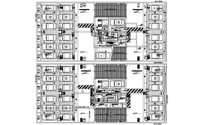 Basement Design Plan AutoCAD Drawing