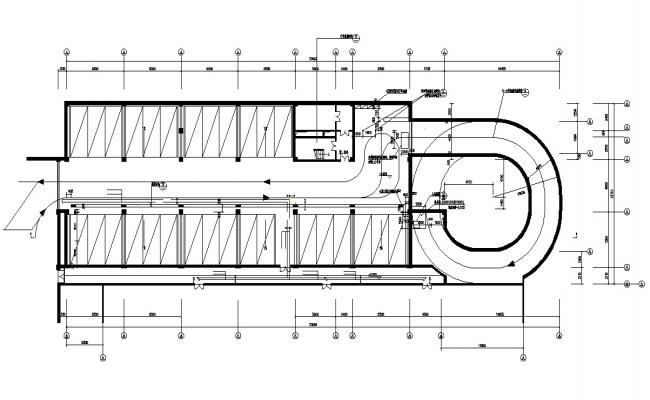 Basement Level Parking Layout Plan Of Commercial Building AutoCAD File Free Download