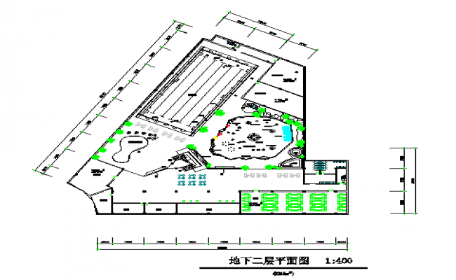 Basement floor plan lay-out