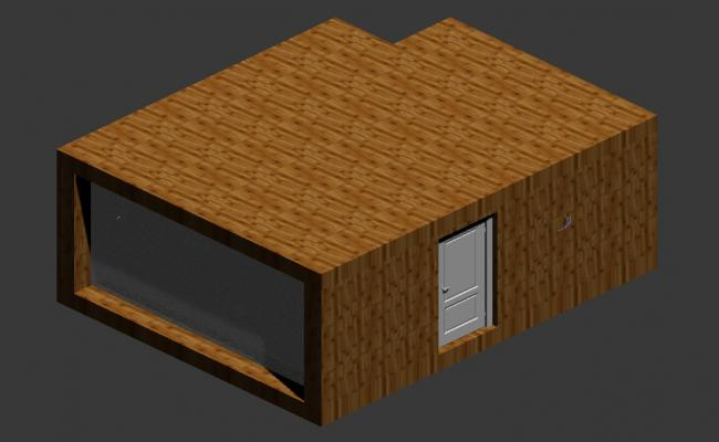 Basic Rendered View Of House 3D MAX File Free