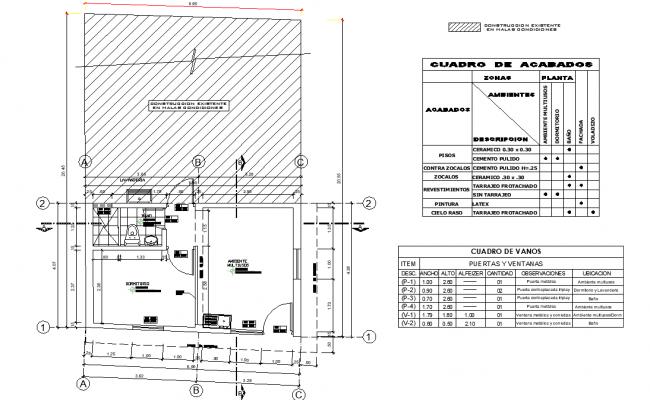 Basic module type plan layout file