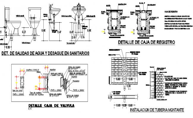 Bathroom elevation design dwg file