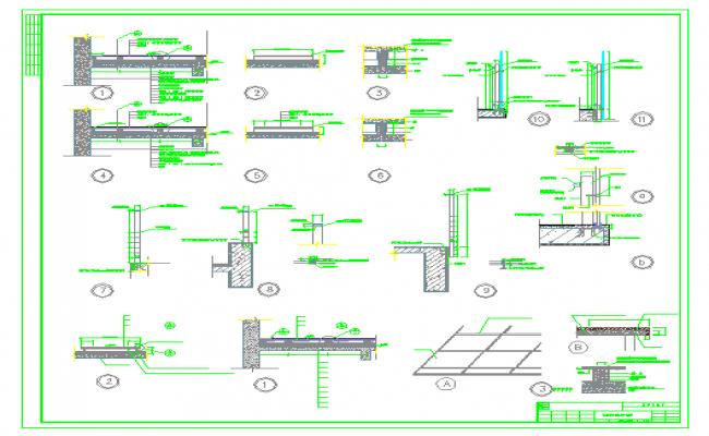 Beam & Column Section Detail