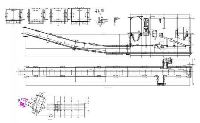 Beam And Column Reinforcement Design AutoCAD File