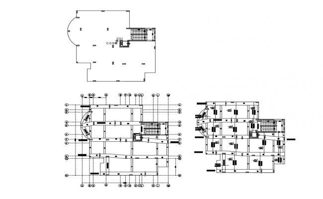 Beam Column Layout Plan