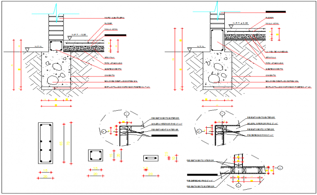 Pile Foundation Details Dwg Detail For Autocad – Migliori Pagine da