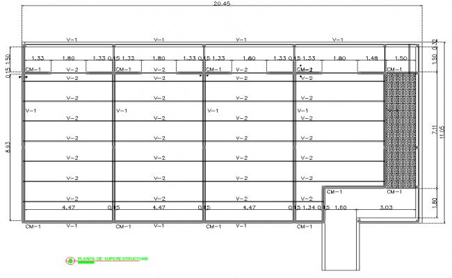 Beam plan layout file