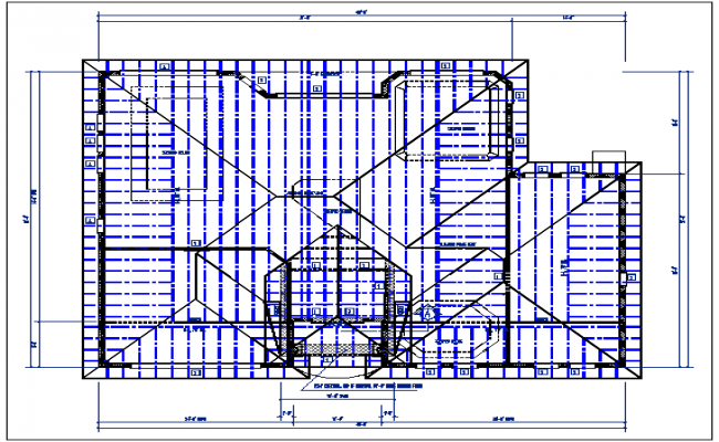 Beam schedule details in the , with dimension details, floor planning details