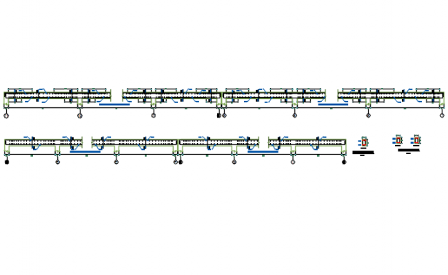 Beam section detail dwg file