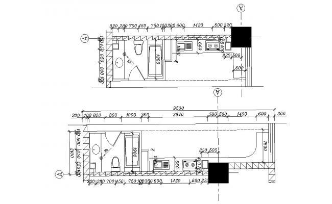 Beautiful Toilet Design AutoCAD File Free