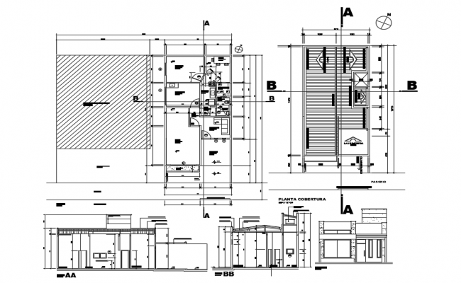 Beauty Salon Plan In DWG File