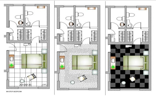 Bedroom Layout CAD File