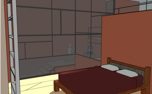 Bedroom detailing concept