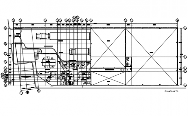Beef packing plants details dwg file