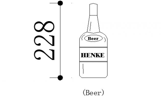 Beer bottle details
