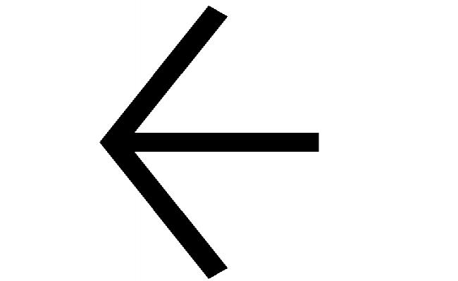Block Detail Of Left Side Arrow