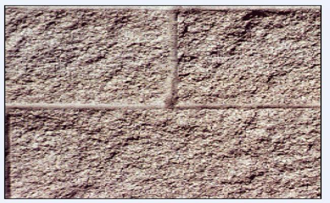 Block of stone masonry texture design