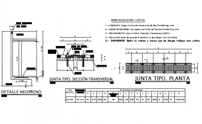 Board type plant section detail dwg file