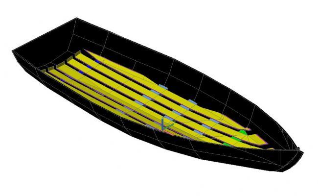 Boat CAD Drawing