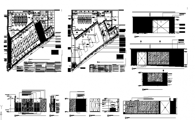 Boutique Plan & elevation detail