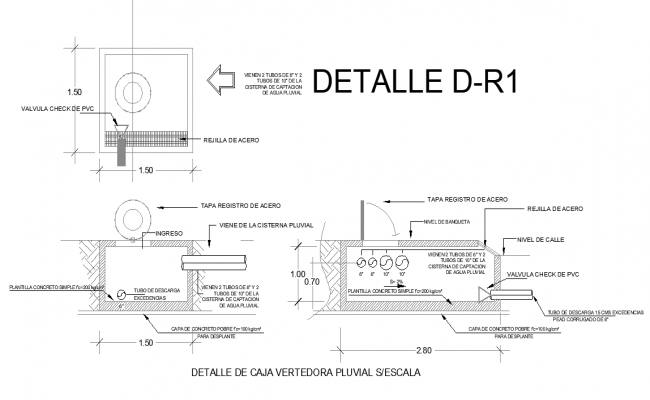 Box release pluvial plan dwg file