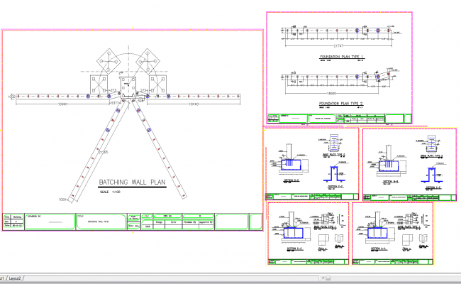 Breathing wall cad drawing and detail