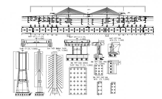Bridge Construction Details DWG File Download