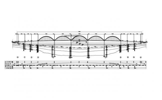 Bridge Design Details DWG File Download